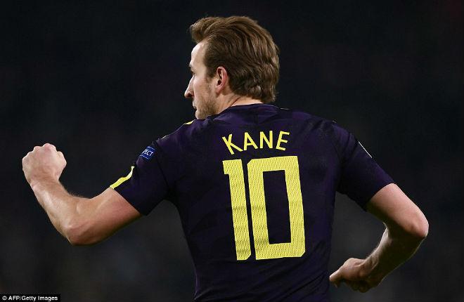 Mãn nhãn siêu trọng pháo đọ tài: Higuain cú đúp, Kane hạ đo ván Buffon 14