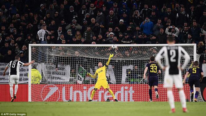 Mãn nhãn siêu trọng pháo đọ tài: Higuain cú đúp, Kane hạ đo ván Buffon 10