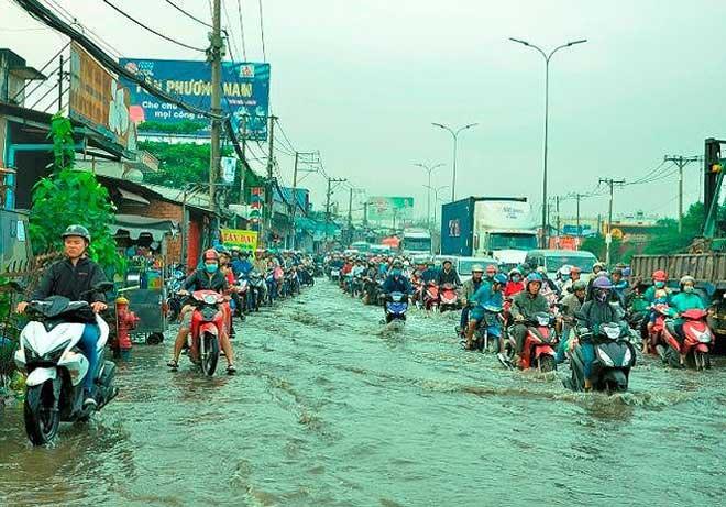 Sài Gòn có thể mưa, ngập vào dịp Tết - 1