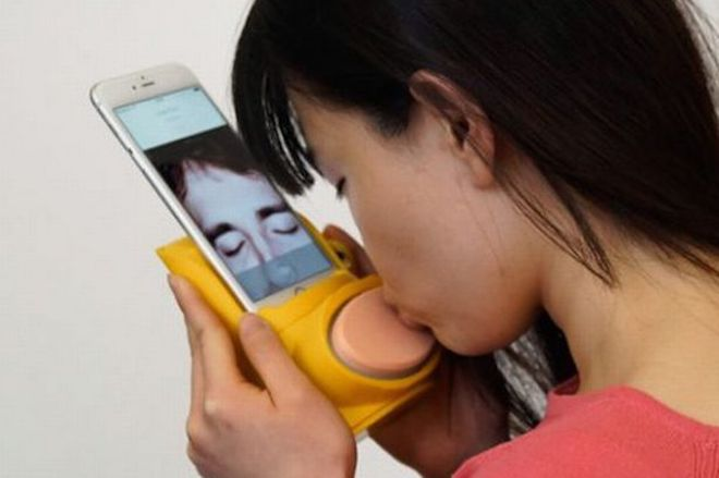 Gửi nụ hôn qua smartphone: Tại sao không? - 1