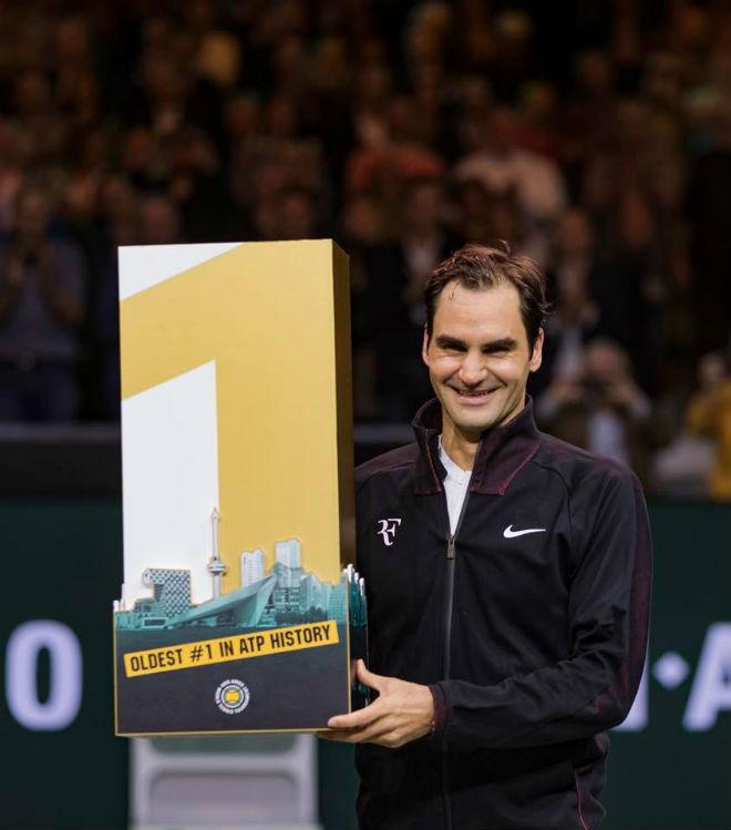 Federer bật khóc: Soán ngôi số 1 thế giới của Nadal, lập 2 kỷ lục đáng nể 1