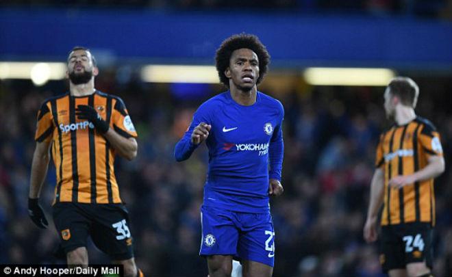 """Chelsea - Hull: Hiệp 1 đỉnh cao, chân """"gỗ"""" hóa """"vàng"""" - 1"""