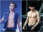 Làm đẹp - Loạt nam nhân Hàn khoe bụng múi ngay trên sân khấu khiến fan lụi tim