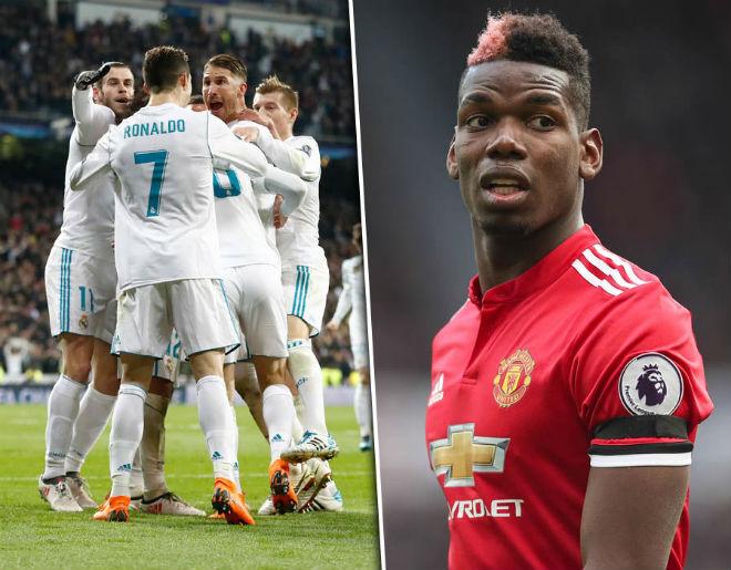 Chuyển nhượng MU: Ronaldo ngăn cấm Pogba sang Real 1