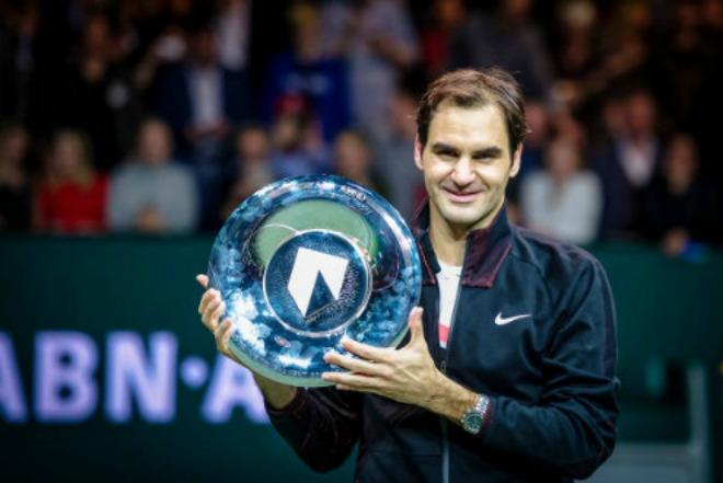 """Federer hạ Dimitrov: """"Thiên đường"""" thứ 97, triệu fan ngợi ca huyền thoại"""
