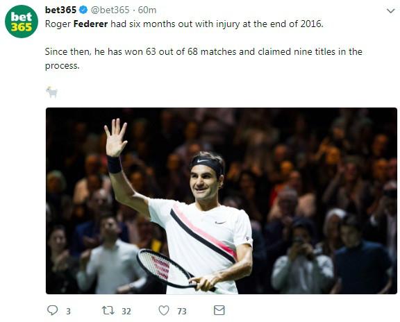 """Federer hạ Dimitrov: """"Thiên đường"""" thứ 97, triệu fan ngợi ca huyền thoại 4"""