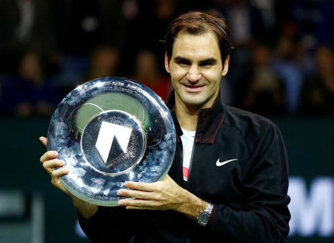 Tin thể thao HOT 19/2: Lên ngôi số 1 thế giới, Federer vớ bẫm triệu đô 1