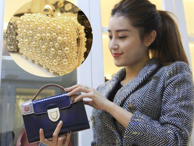 Bộ sưu tập túi hiệu, phụ kiện trị giá hàng tỷ đồng của Huyền My