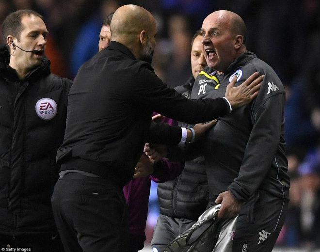 Man City thua sốc FA cup, Pep Guardiola suýt ẩu đả với HLV Wigan 6