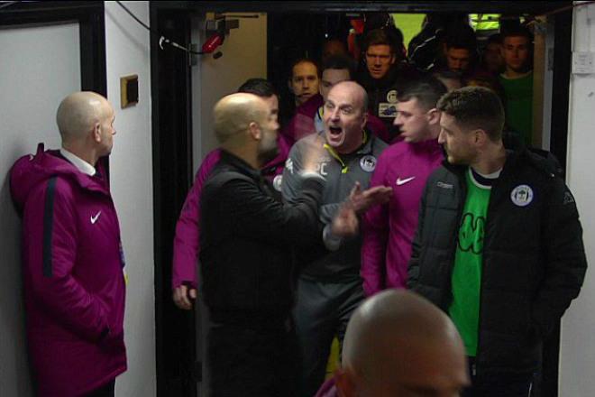 """Man City thua sốc ở FA Cup: Pep chối không """"cà khịa"""" HLV Wigan 2"""