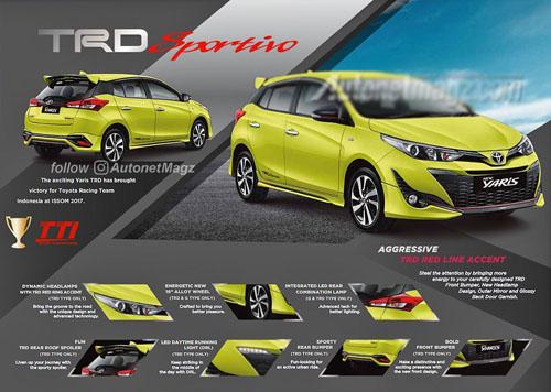 """Toyota Yaris TRD Sportivo 2018: Đẹp và """"sang chảnh"""" hơn - 2"""