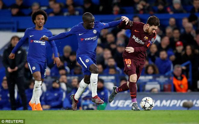 """Chelsea cầm hòa Barca: Biến Messi thành """"người thường"""", phục thù ở Nou Camp 1"""