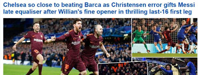"""Chelsea """"rơi vàng"""" trước Barca: Báo Anh công kích """"Terry đệ nhị"""" 1"""