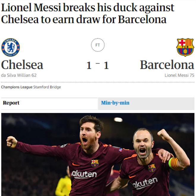 """Chelsea """"rơi vàng"""" trước Barca: Báo Anh công kích """"Terry đệ nhị"""" 4"""