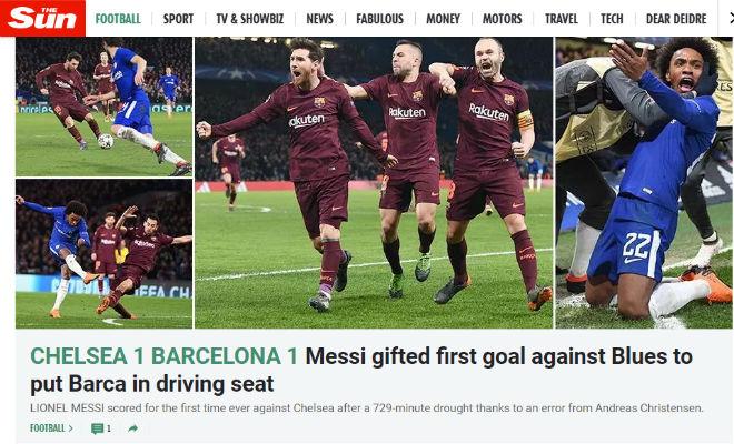 """Chelsea """"rơi vàng"""" trước Barca: Báo Anh công kích """"Terry đệ nhị"""" 2"""