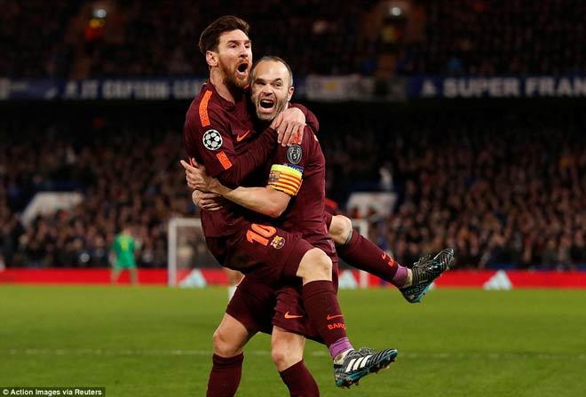 Góc chiến thuật Chelsea – Barca: Sai một ly Messi cho đi một dặm