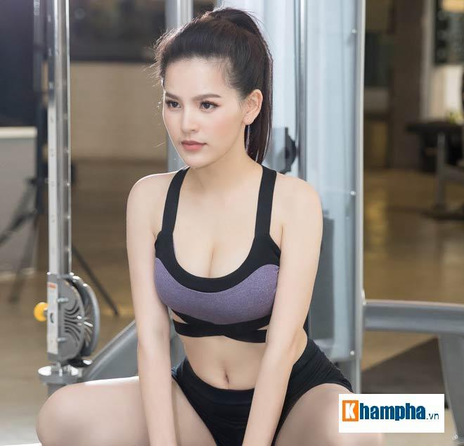 """""""Thánh nữ Mì Gõ"""" Trang Phi nóng bỏng tập gym, lộ chiêu giảm cân sau Tết 6"""