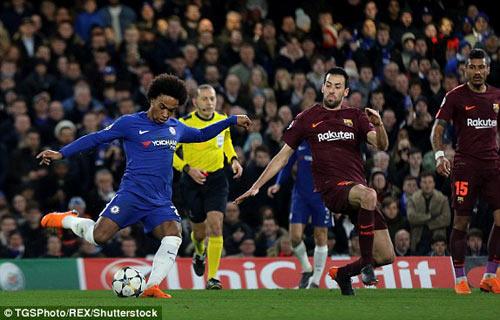 Chi tiết Chelsea - Barcelona: Cuối trận quyết liệt (KT) 21