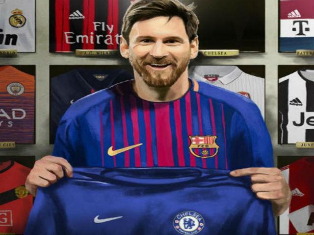 """Chelsea cầm hòa Barca: Biến Messi thành """"người thường"""", phục thù ở Nou Camp 4"""