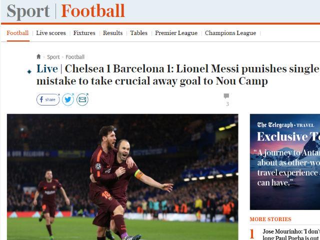 Góc chiến thuật Chelsea – Barca: Sai một ly Messi cho đi một dặm 4