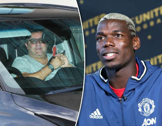 """Chuyển nhượng MU: """"Siêu cò"""" dọa Pogba rời Old Trafford 1"""