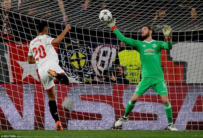 """Góc chiến thuật Sevilla – MU: Mourinho yếu bóng vía, """"Đấng cứu thế"""" De Gea 2"""