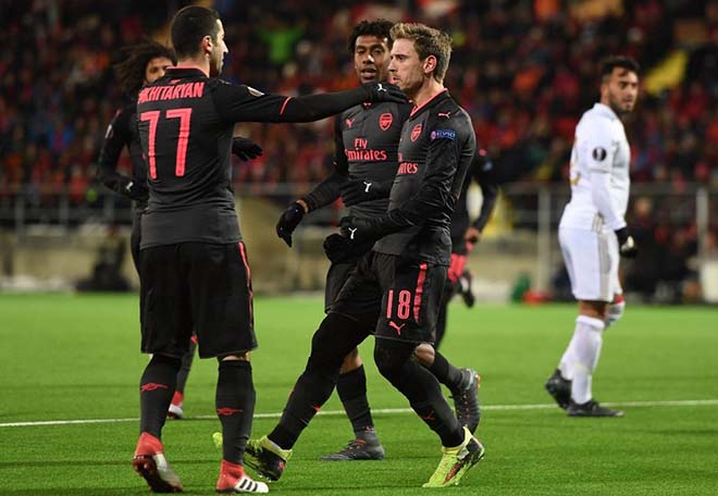 """Arsenal - Ostersunds: Chờ Mkhitaryan """"gánh team"""", sẵn sàng chiến Man City 1"""