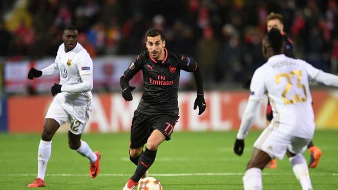 """Arsenal - Ostersunds: Chờ Mkhitaryan """"gánh team"""", sẵn sàng chiến Man City 2"""