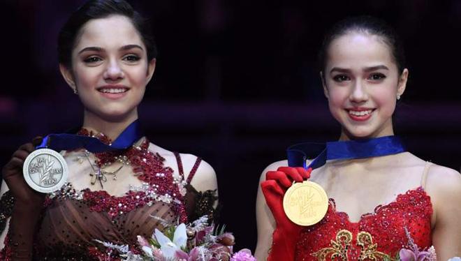 """Nữ thần 15 tuổi Olympic mùa đông: """"Đè"""" mỹ nhân, cứu cả """"đoàn Nga"""" 11"""