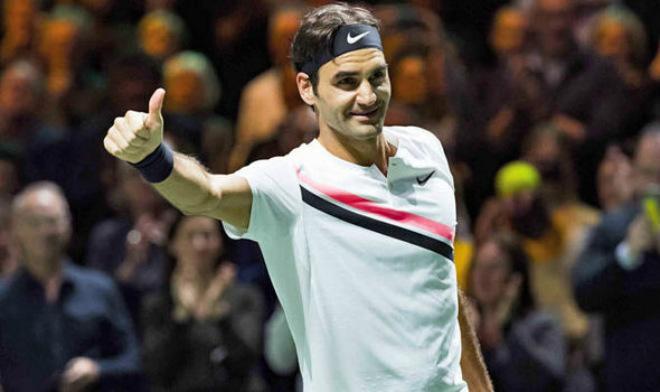 """Khuynh đảo làng quần vợt: """"Vua"""" Federer & những siêu kỷ lục chờ phá năm 2018"""