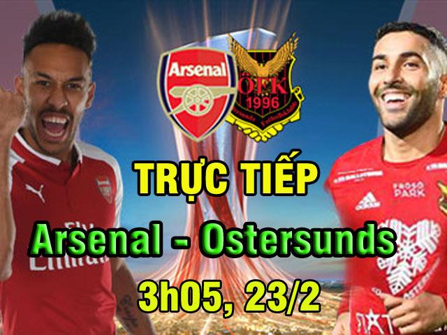 Arsenal - Ostersunds: 69 giây ngược dòng, ông lớn mất vía 2
