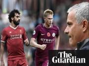 """Bóng đá - Hay nhất Ngoại hạng Anh: """"Nhờ"""" Mourinho, Salah đại chiến De Bruyne"""