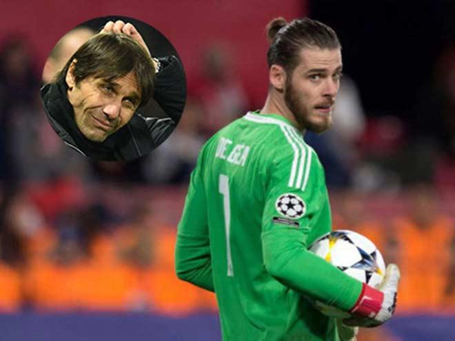 """De Gea quá khó hạ: Chelsea – Conte mưu """"lấy thịt đè người"""" đấu MU 1"""