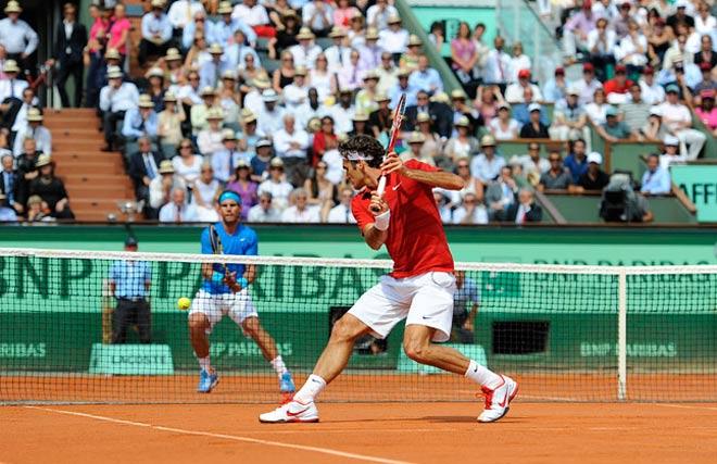 Federer quá hay: Hạ nốt Nadal ở sân đất nện năm 2018? 1