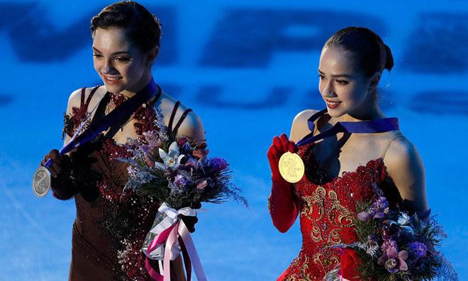 """Nữ thần 15 tuổi Olympic mùa đông: """"Đè"""" mỹ nhân, cứu cả """"đoàn Nga"""" 1"""