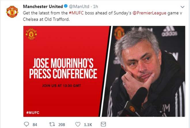 "Họp báo MU - Chelsea: Mourinho khen Pogba - Lukaku, ""coi thường"" Conte 4"