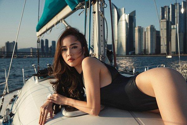 """Vũ Ngọc Anh: """"Hoa hậu nhiều hơn dân thường, người đẹp khó tồn tại trong showbiz"""" - 3"""
