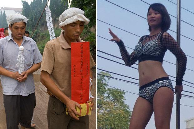 Vũ nữ thoát y nhảy sexy tưng bừng trong đám ma ở TQ: Nguồn gốc từ đâu?