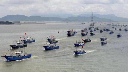 Kỷ lục đáng sợ của tàu cá Trung Quốc