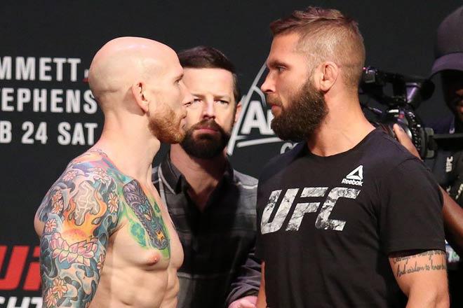"""Tin nóng UFC, Emmett - Stephens: """"Máy cày"""" vung cùi chỏ, định đoạt chóng vánh 2"""