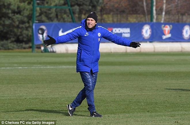 """Đấu MU: Chelsea luyện """"kéo xe"""", Conte lộ bài với Mourinho 11"""