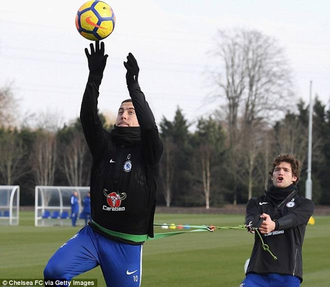 """Đấu MU: Chelsea luyện """"kéo xe"""", Conte lộ bài với Mourinho 2"""