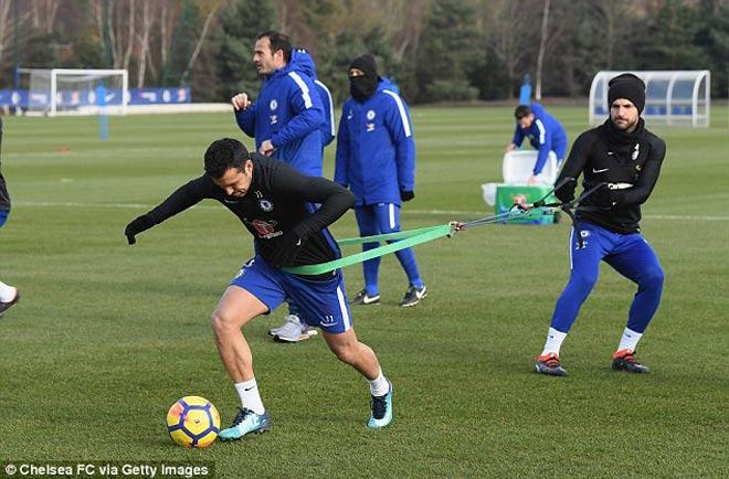 """Đấu MU: Chelsea luyện """"kéo xe"""", Conte lộ bài với Mourinho 4"""