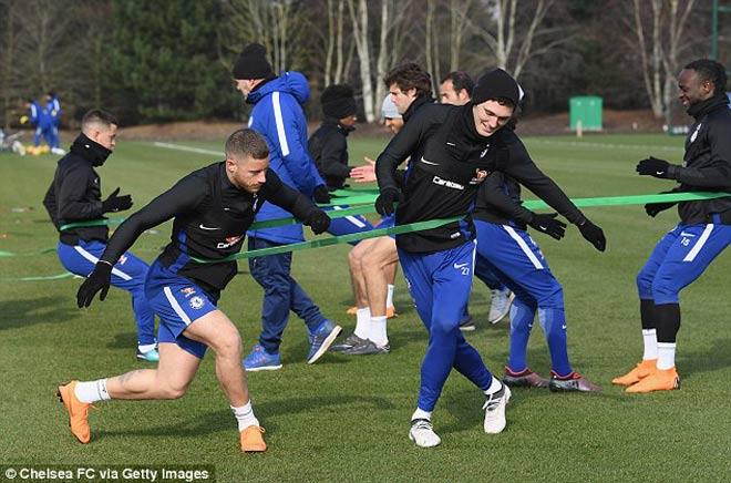 """Đấu MU: Chelsea luyện """"kéo xe"""", Conte lộ bài với Mourinho 6"""