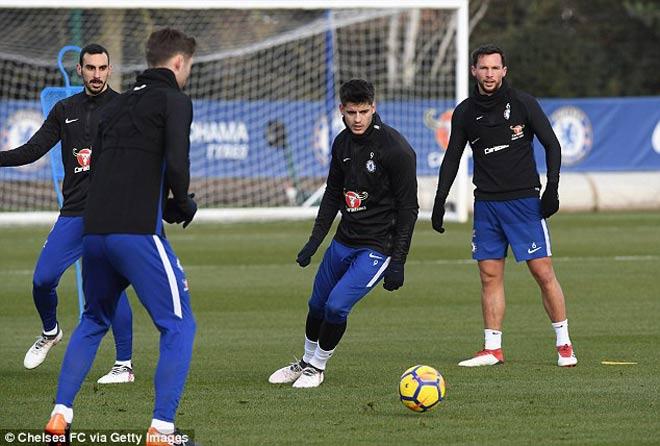 """Đấu MU: Chelsea luyện """"kéo xe"""", Conte lộ bài với Mourinho 9"""