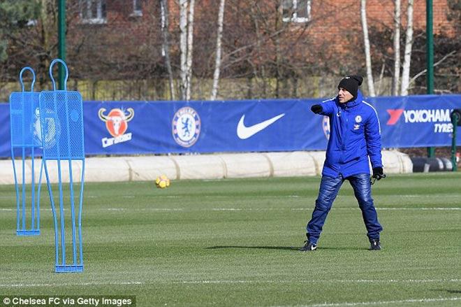 """Đấu MU: Chelsea luyện """"kéo xe"""", Conte lộ bài với Mourinho 10"""