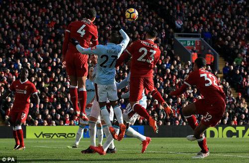 "Chi tiết Liverpool - West Ham: ""Lữ đoàn"" thỏa mãn (KT) 22"