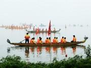 Du lịch - Lễ hội đua thuyền Hồ Tây: Đội Hà Nội đua kiểu lạ
