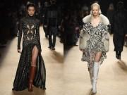 Thời trang - Váy xẻ cao nóng bỏng của Roberto Cavalli được khen hết lời tại Milan FW
