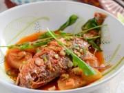 Ẩm thực - Giải ngán đầu năm với cá sốt củ cải mềm mọng hấp dẫn